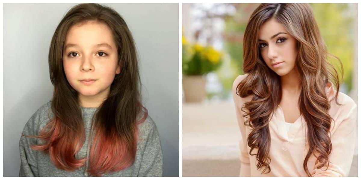 Peinados de jovenes 2020- pelo suelto para las chicas jovenes