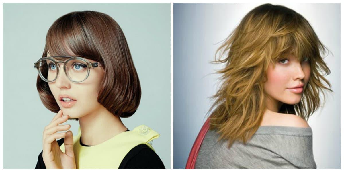 Peinados de jovenes 2020- cascade y pelo corto tambien de moda