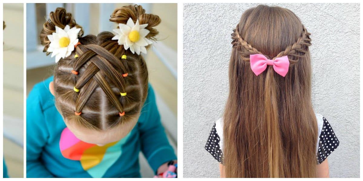Peinados fáciles para niñas- cortes de pelo muy modernas