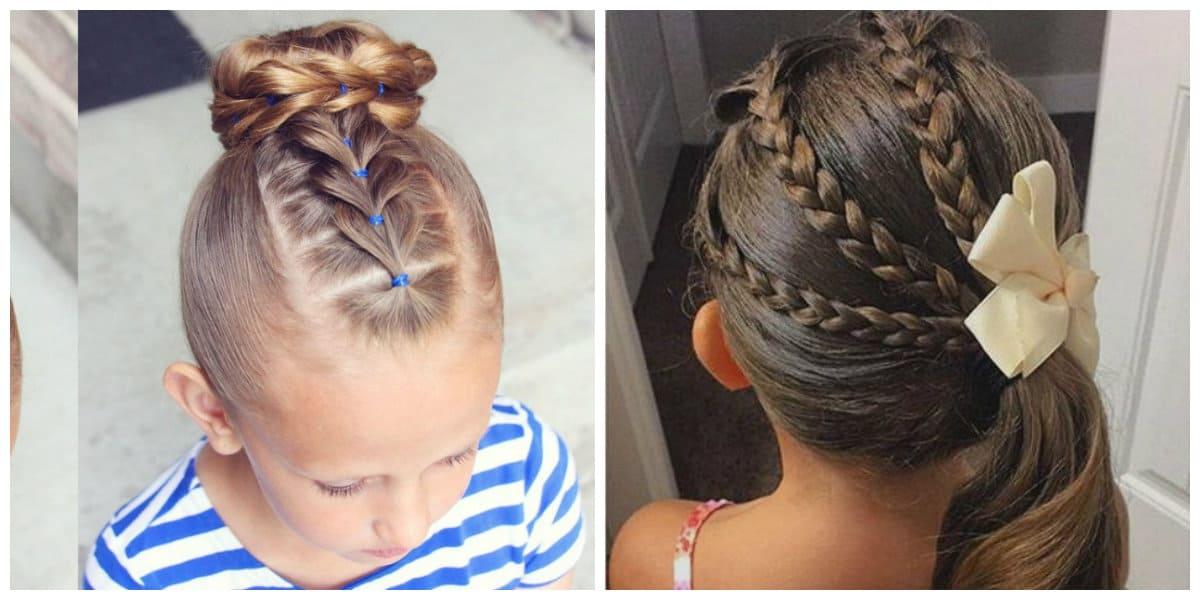 Peinados fáciles para niñas- trenzas para las pequenas fashionistas