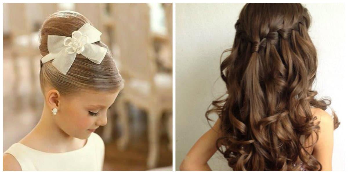 Peinados fáciles para niñas- peinados para fiestas modernas