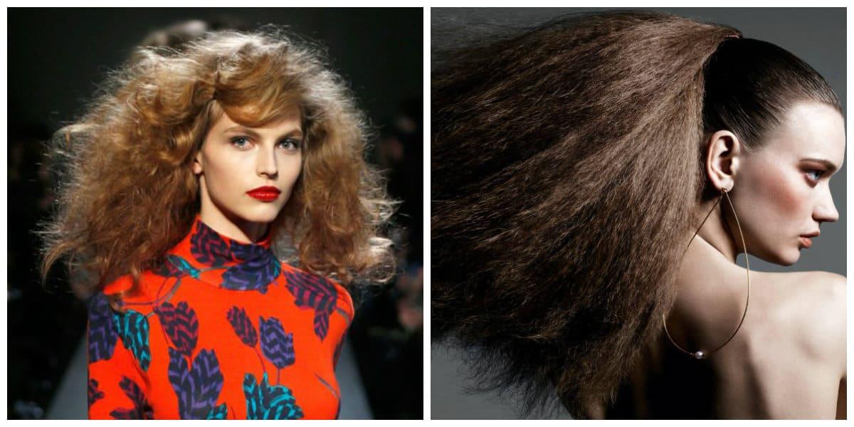 Peinados modernos 2020- cabello muy rico y perfecto de apariencia