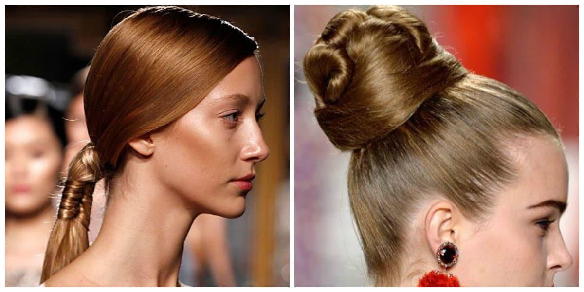 Peinados modernos 2020- cola de caballo para las mujeres