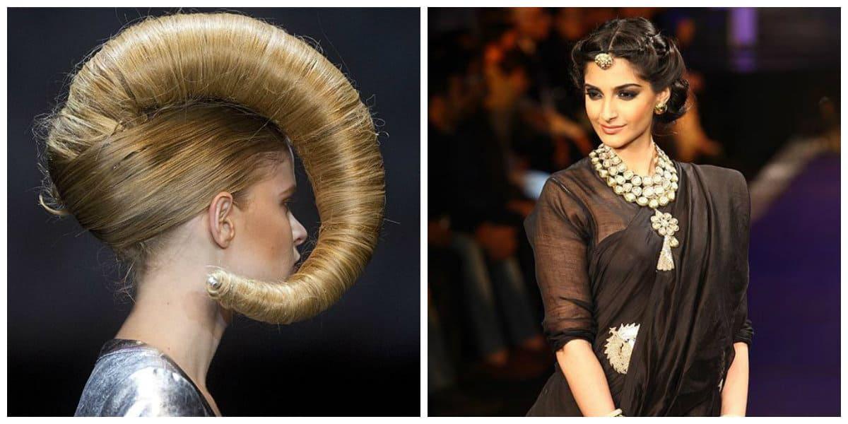 Peinados modernos 2020- opciones desde los fashion shows