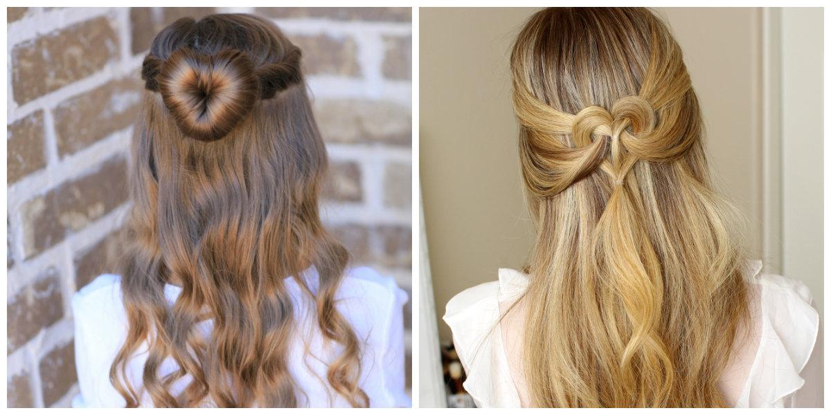 Peinados para San Valentín- ideas de peinados para amantes de moda