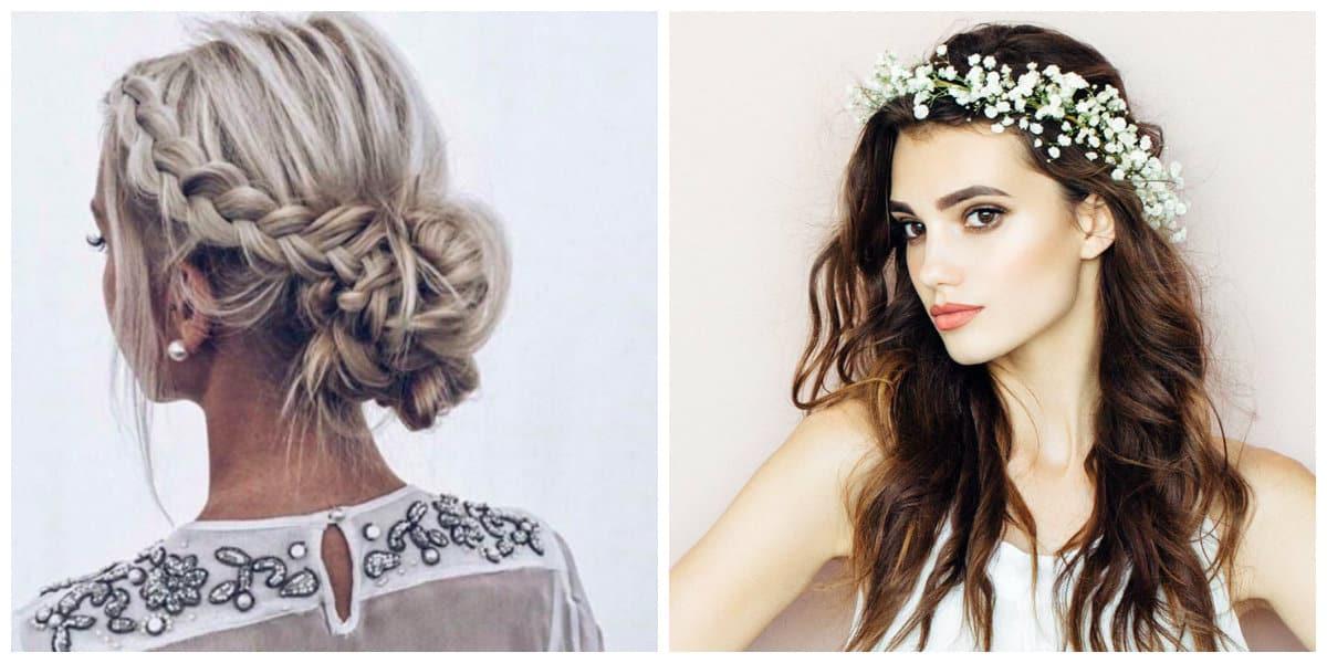 Peinados para San Valentín- accesorios para el cabello de dia de fiesta