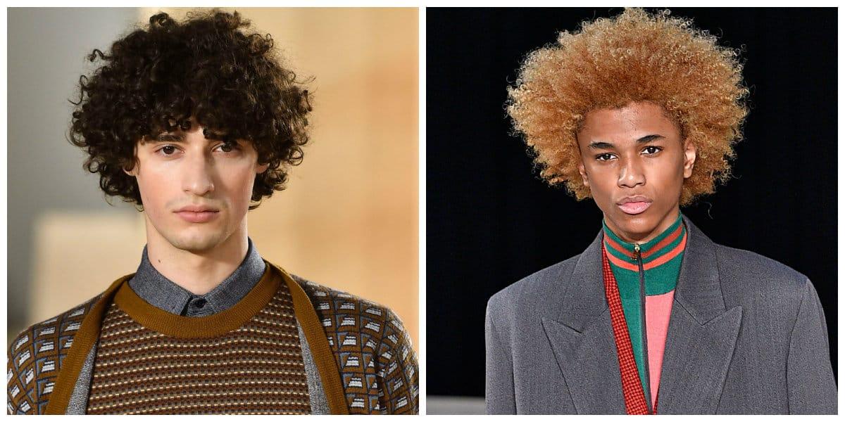 Peinados para hombres 2020- cabello ondulado para los hombres