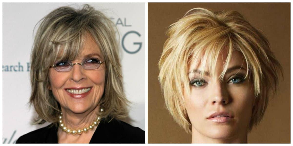 Peinados para señoras de 50 años- cortes de pelo de moda