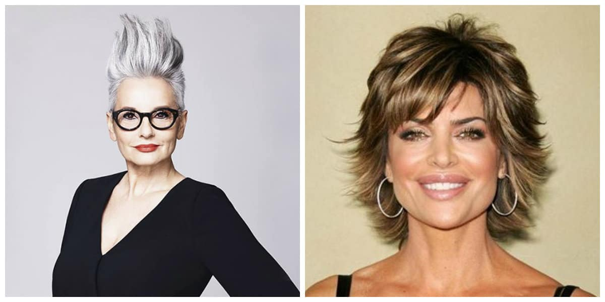 Peinados para señoras de 50 años- iesperadas soluciones de moda