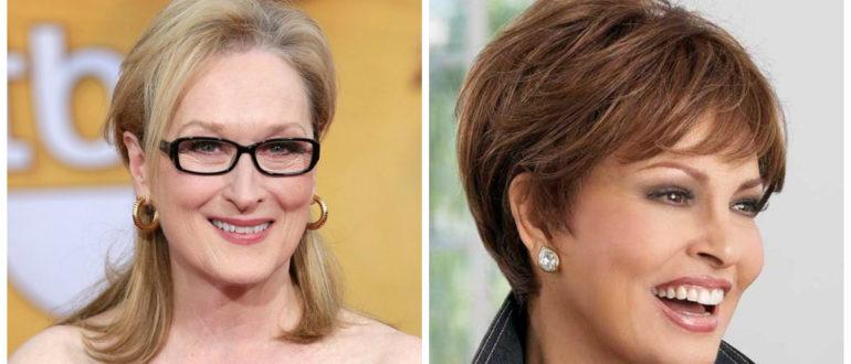 Peinados para señoras de 50 años- mujeres de peinados muy interesantes