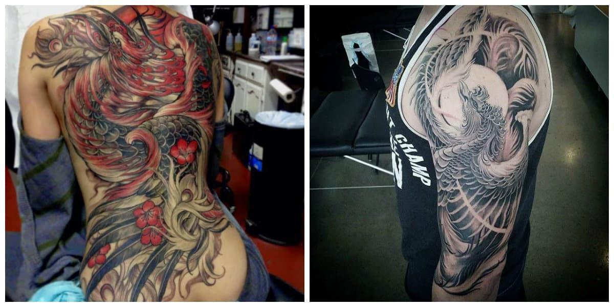 Phoenix tatuaje- puede incluir todo el cuerpo de la mujer moderna