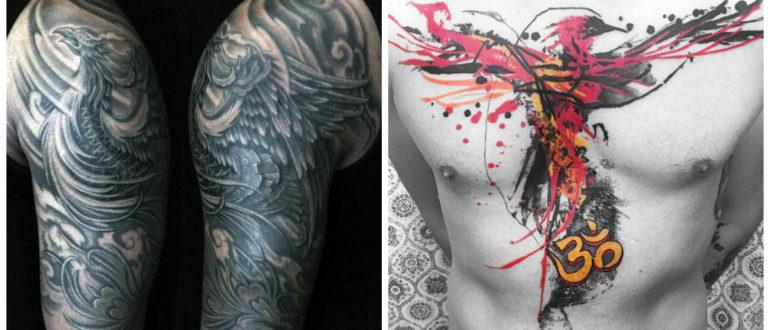 Phoenix tatuaje- hay diferentes imagenes que estan muy popular