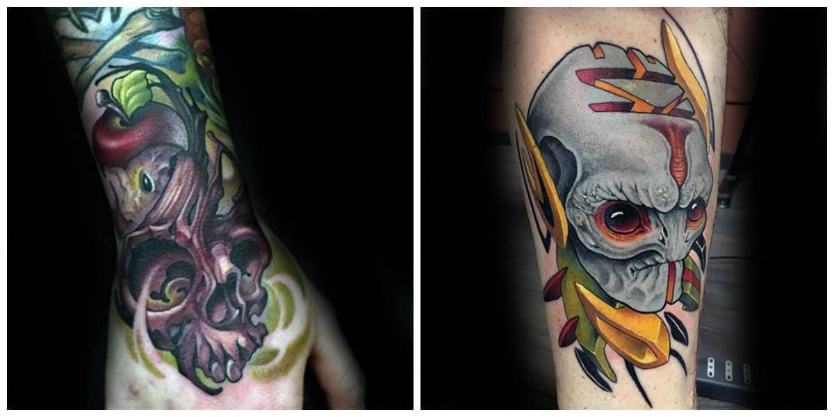 Tattoo nueva escuela- todas las tendencias y corrientes en uso