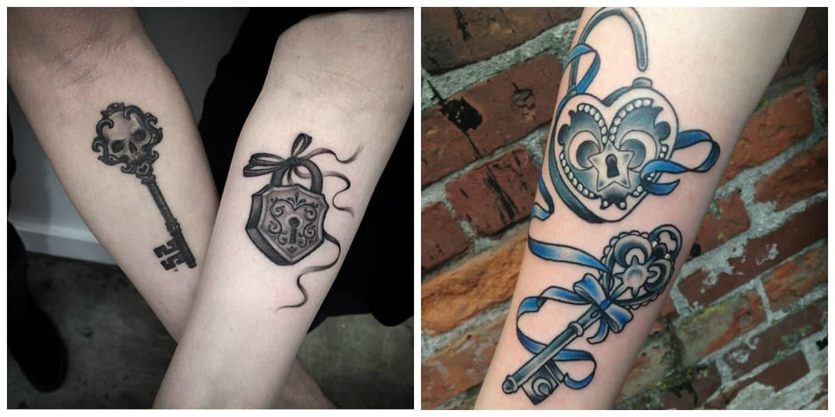 Tatuaje llave- todas las tendencias de la combinacion perfecta