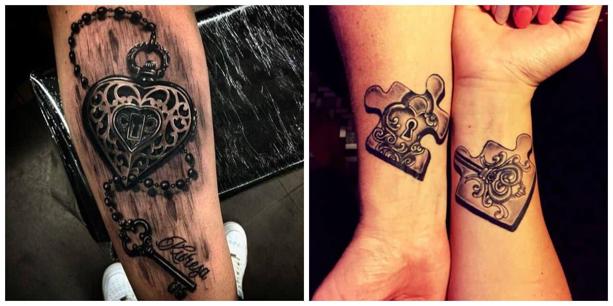 Tatuaje llave- diferentes estilos de los tatuajes de llave