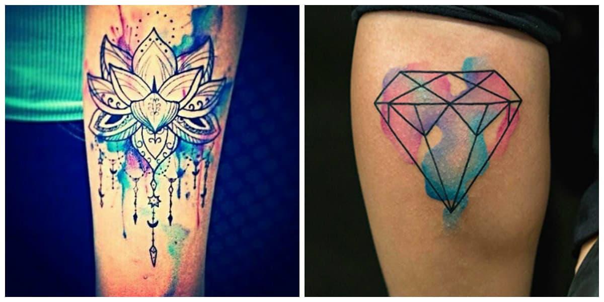 Tatuajes 2020- colores diferentes para tenir tu brazo en tatuajes