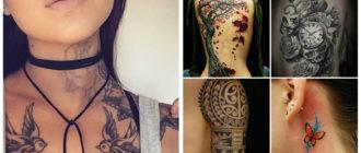 Tatuajes 2018- sobre diferentes partes del cuerpo muy moderno
