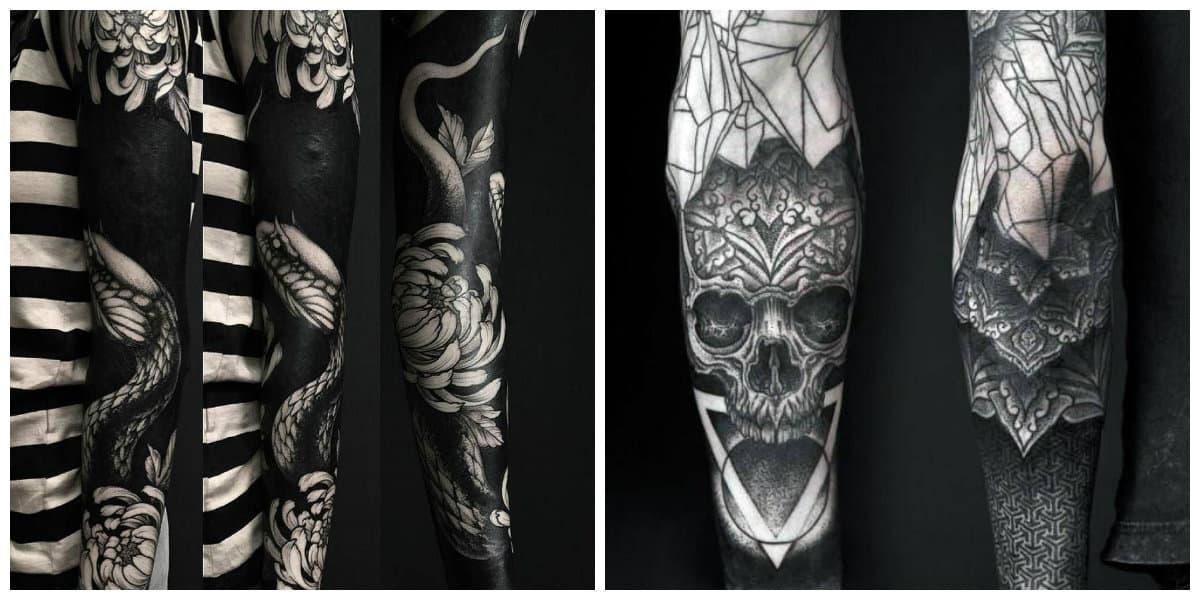 Tatuajes blackwork- todas las tendencias del arte de tatuajes