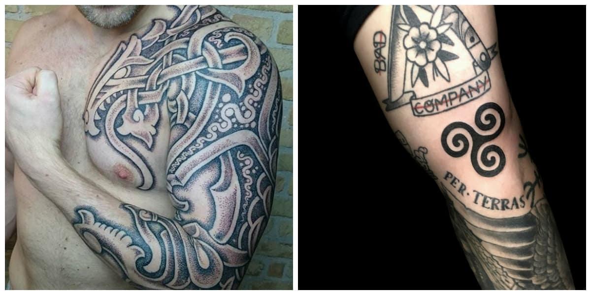 Tatuajes celtas- simbolos y signos que llegan desde la historia antigua