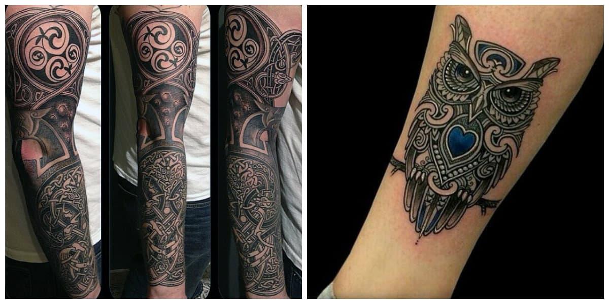 Tatuajes celtas- mejores ejemplos de imagenes celtas en fotos