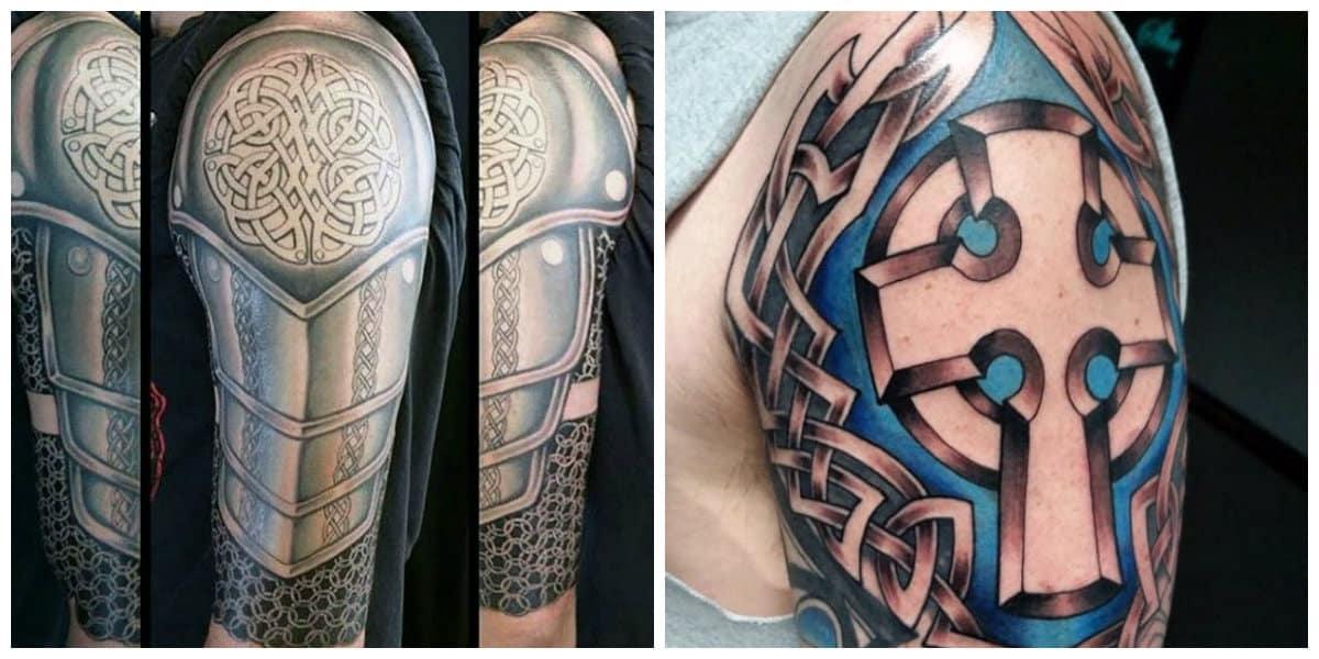 Tatuajes celtas- tatuajes en color principal negro asi como los otros