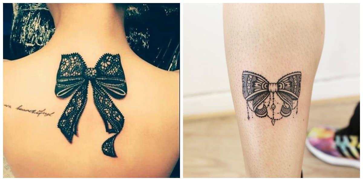 Tatuajes de arcos- todas las tendencias de moda femenina
