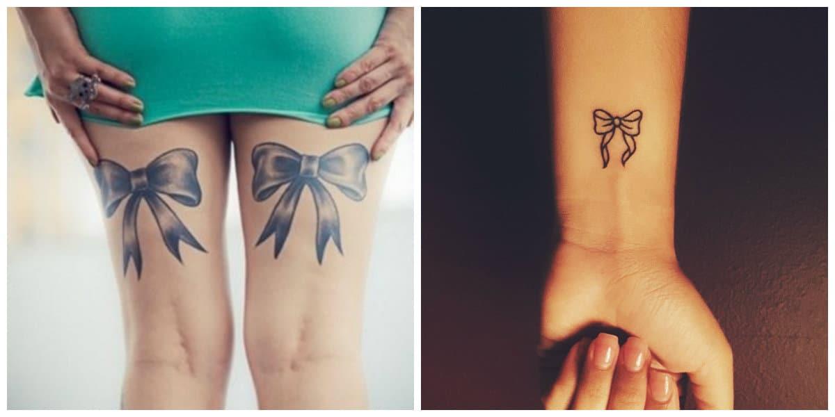Tatuajes de arcos- piernas y brazos como partes del cuerpo adecuados