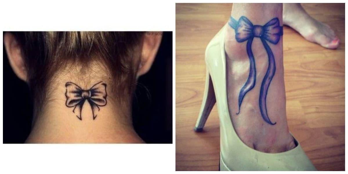 Tatuajes de arcos- se usa como un accesorio para las mujeres