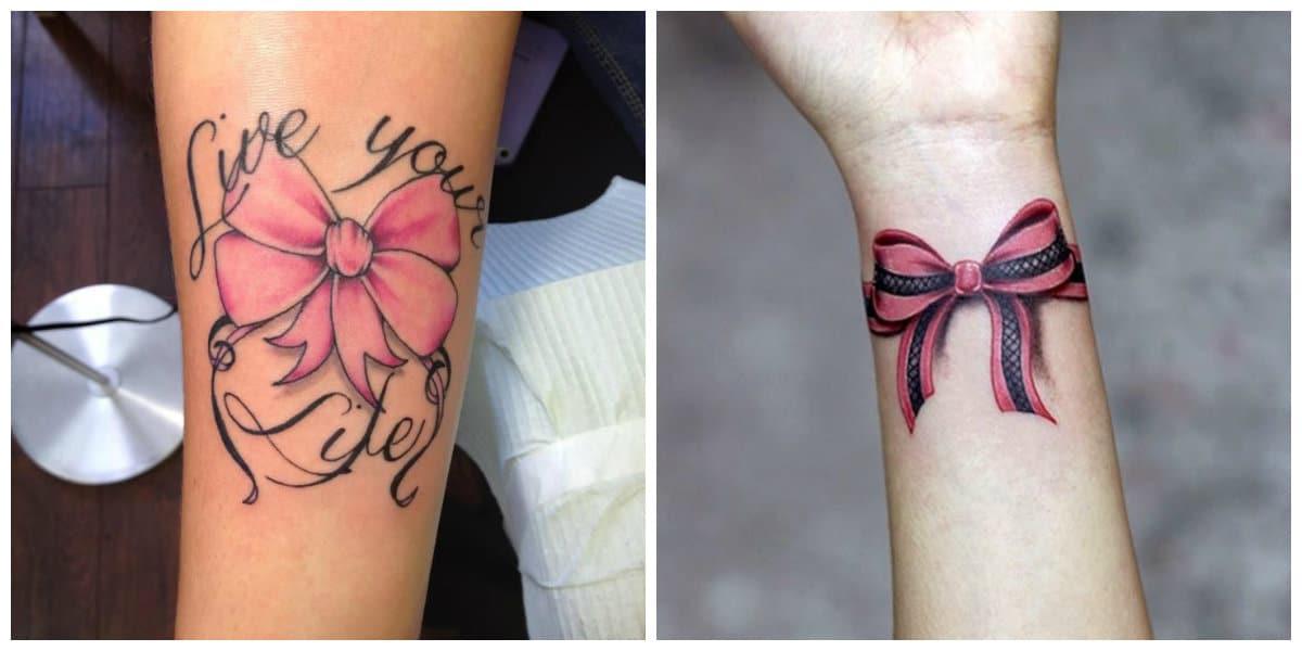 Tatuajes de arcos- puede ir acompanado por otras imagenes de moda