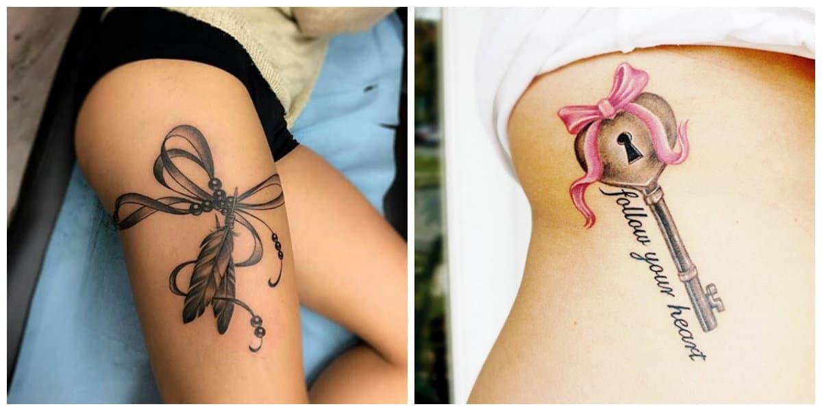 Tatuajes de arcos- ideas para las chicas amantes del arte de tatuaje