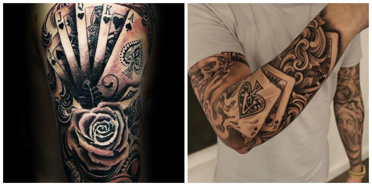 Tatuajes de cartas- significados diferenes asignados a las cartas
