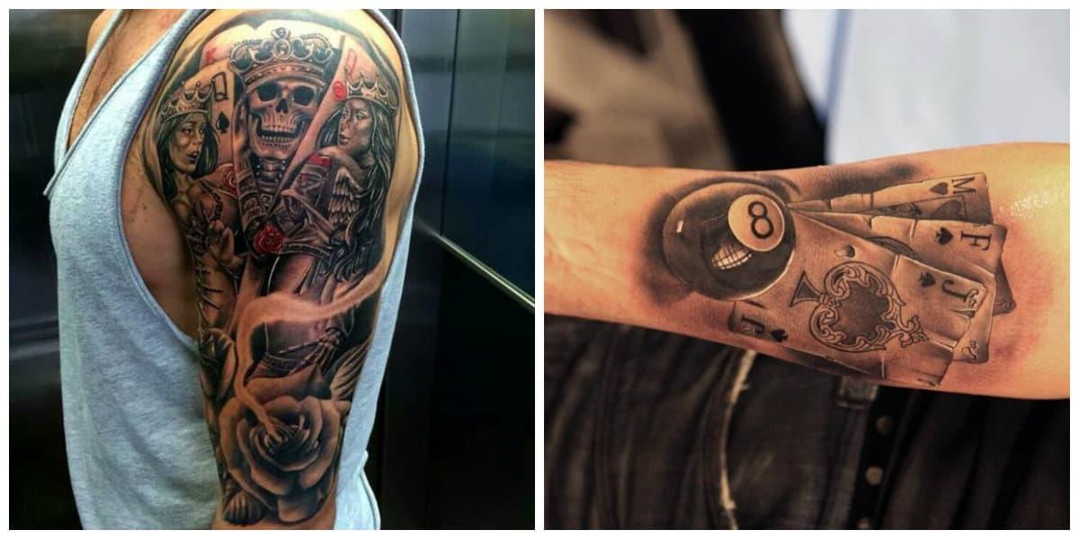 Tatuajes de cartas- imagenes de ideas prefectas de tatuajes de cartas