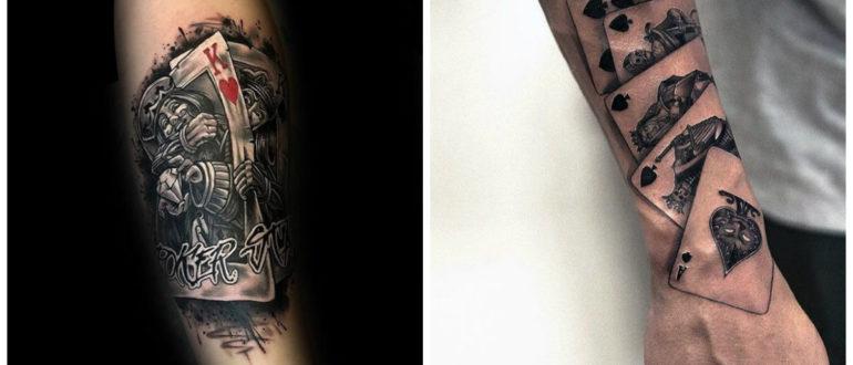 Tatuajes de cartas- ideas e imagenes que pueden ayudarte a decidir tu diseno de tatuaje
