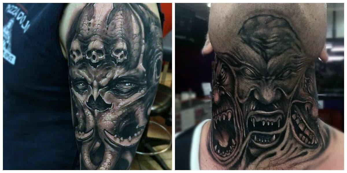 Tatuajes de demonios- todas las tendencias principales