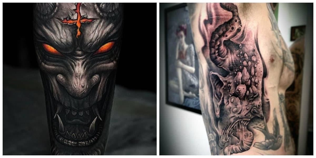 Tatuajes de demonios- imagenes horribles y a la vez bonitas