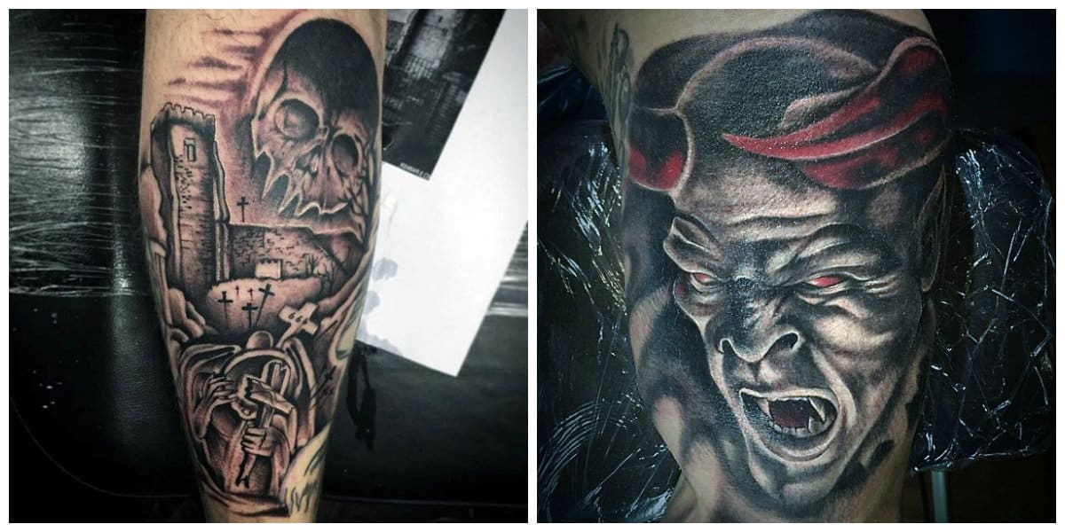 Tatuajes de demonios- algunas ideas en fotos perfectos