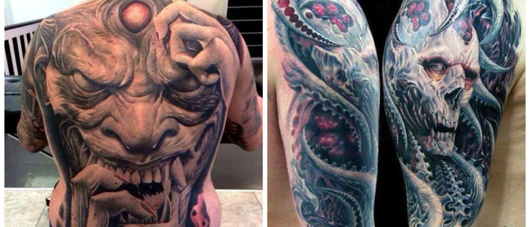 Tatuajes de demonios- diferentes ideas e imagenss modernas masculinas