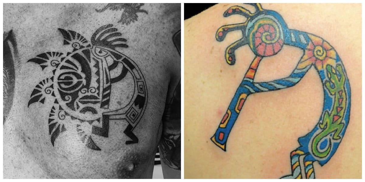 Tatuajes de kokopelli- imagenes de este dios de fertilidad