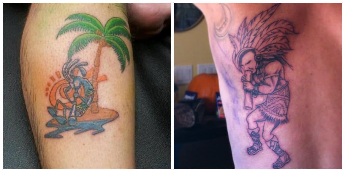 Tatuajes de kokopelli- es ideal tanto para mujeres como para hombres