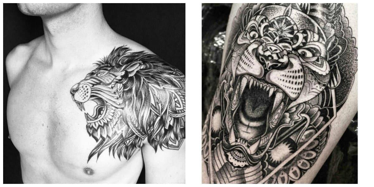 Tatuajes de leones- mejores y hermosas ideas para tener un tatuaje