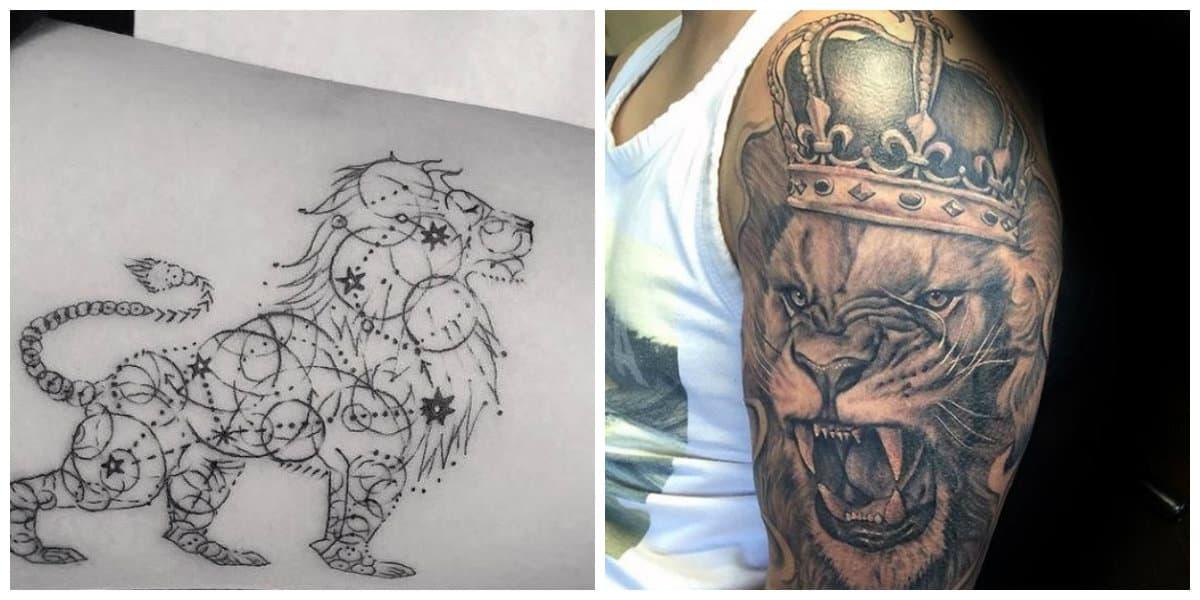Tatuajes de leones- como hacer que se vea tu poder de gobernar