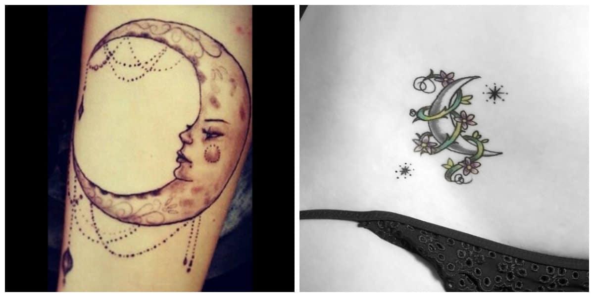 Tatuajes de lunas- todas las tendencias y corrientes en uso