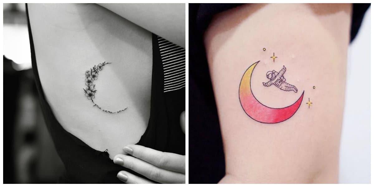 Tatuajes De Lunas Las Mejores Imágenes Y Fotos De Los Tatuajes De