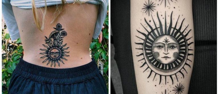 Tatuajes de sol- mejores deas en imagenes y fotos de moda