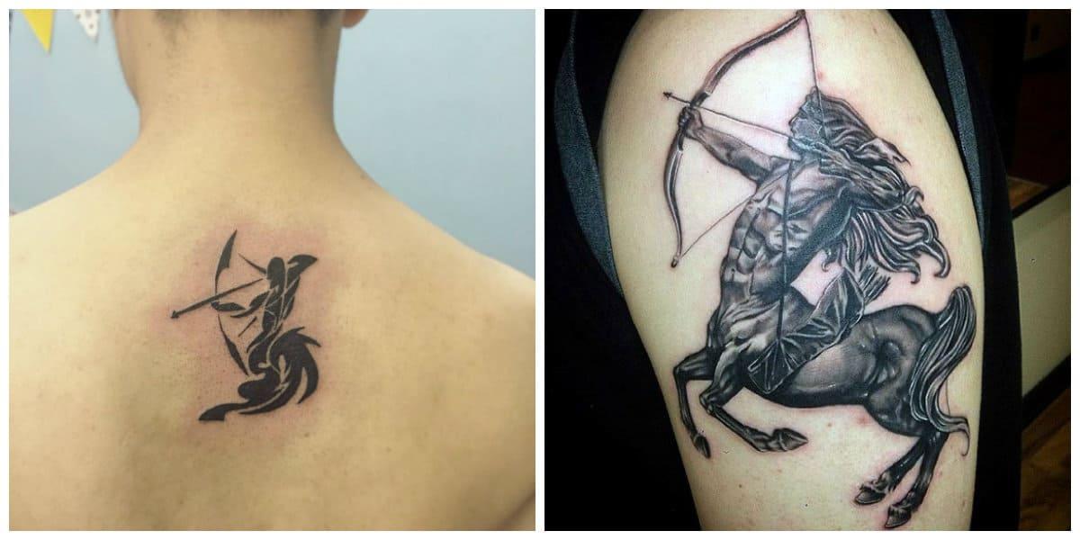 Tatuajes del signo sagitario- imagenes y fotos explicados