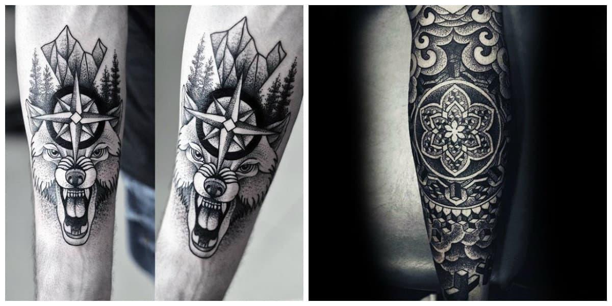 Tatuajes dotwork- todas las tendencias y corrientes en uso