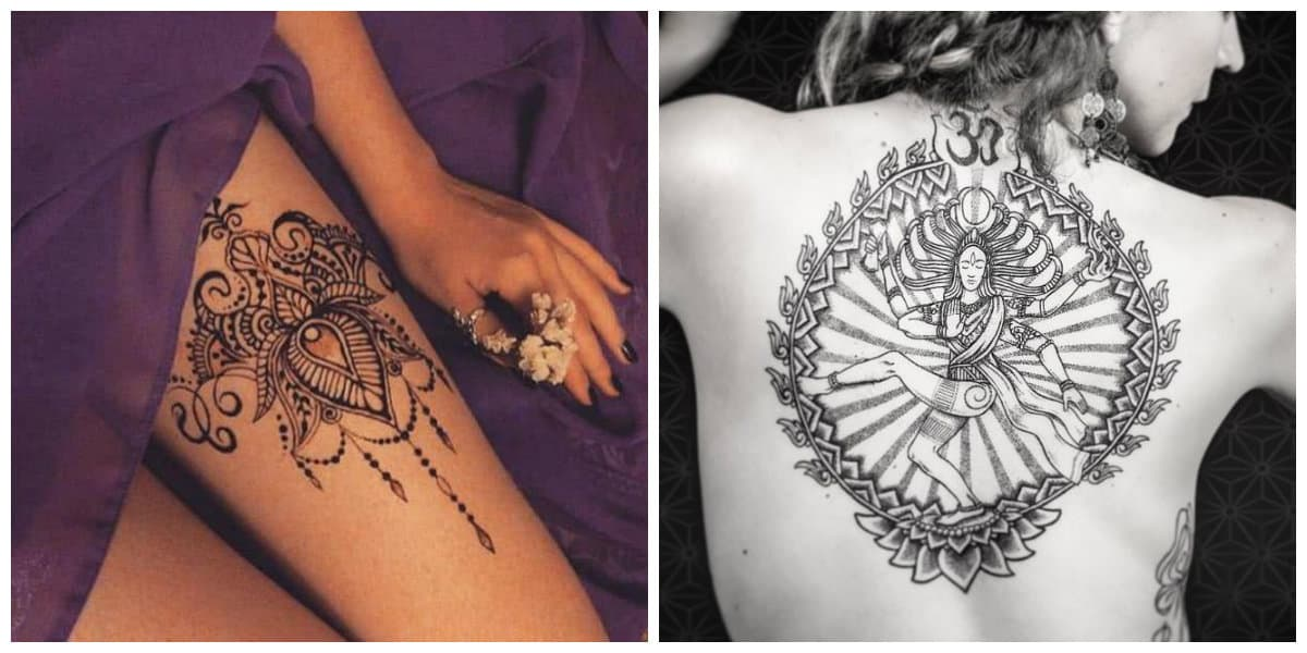 Tatuajes Hindu Notables Tatuajes Hindúes Desde Arte Del Tatuaje