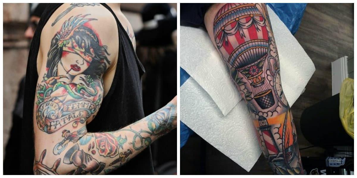 Tatuajes old school-alguans imagenes muy populares para hacer caso