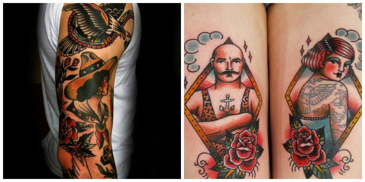 Tatuajes old school- imagenes que pueden ser interpretados actualment