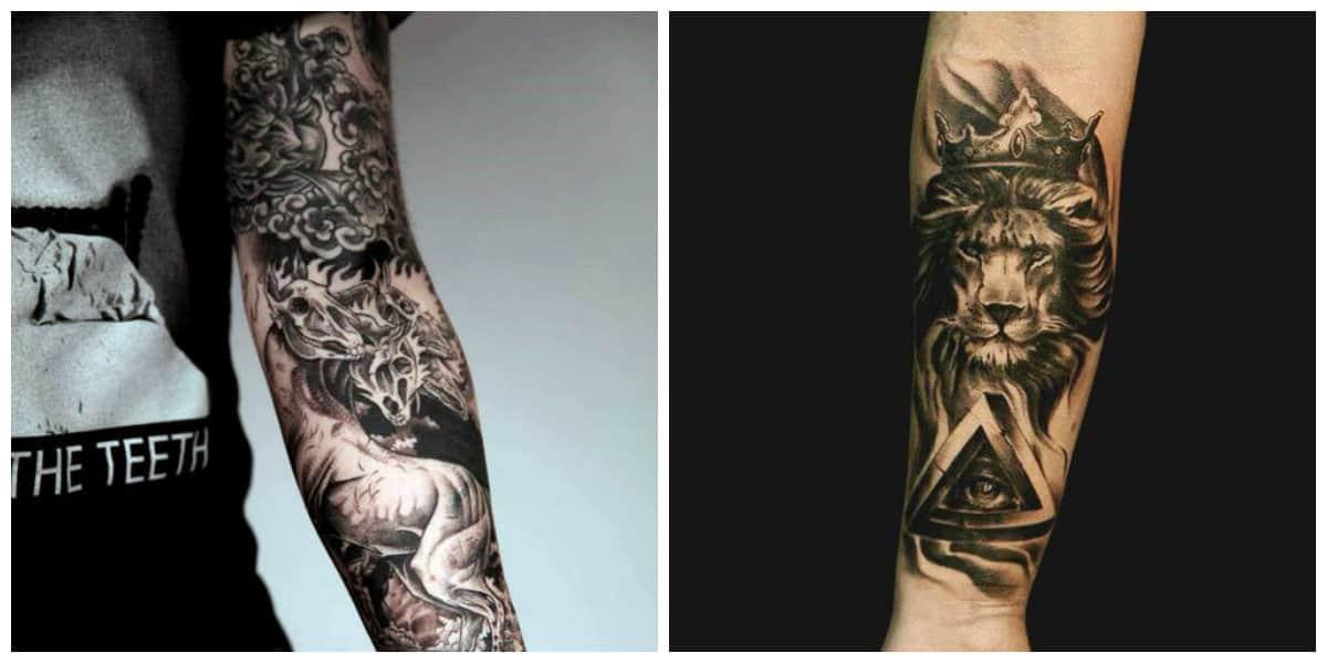 Tatuajes para hombres en el brazo- ideas principales de moda
